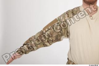 Soldier in American Army Military Uniform 0013
