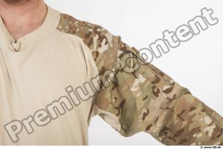 Soldier in American Army Military Uniform 0017