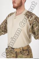 Soldier in American Army Military Uniform 0019