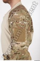 Soldier in American Army Military Uniform 0023
