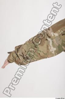 Soldier in American Army Military Uniform 0027