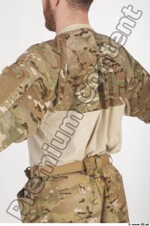 Soldier in American Army Military Uniform 0024