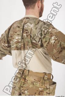 Soldier in American Army Military Uniform 0032