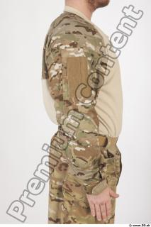 Soldier in American Army Military Uniform 0034