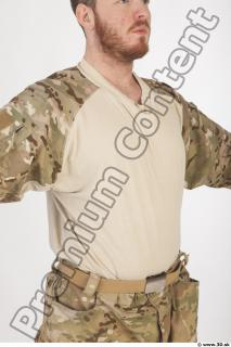Soldier in American Army Military Uniform 0037
