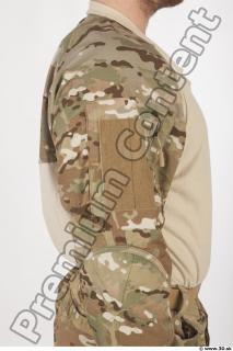 Soldier in American Army Military Uniform 0036