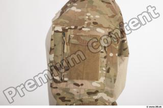 Soldier in American Army Military Uniform 0039