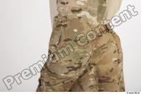 Soldier in American Army Military Uniform 0040