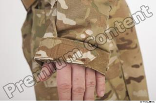 Soldier in American Army Military Uniform 0041