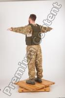 Soldier in American Army Military Uniform 0047