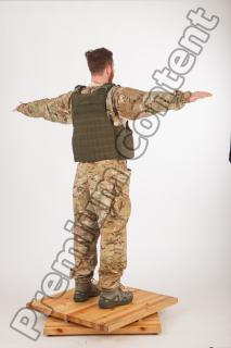 Soldier in American Army Military Uniform 0049