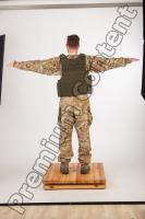 Soldier in American Army Military Uniform 0048