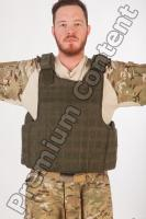 Soldier in American Army Military Uniform 0052