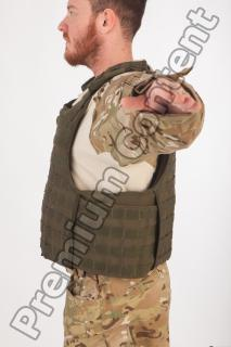 Soldier in American Army Military Uniform 0054