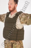 Soldier in American Army Military Uniform 0053