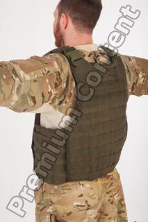 Soldier in American Army Military Uniform 0055