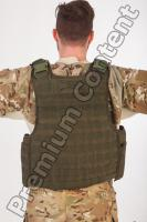 Soldier in American Army Military Uniform 0056