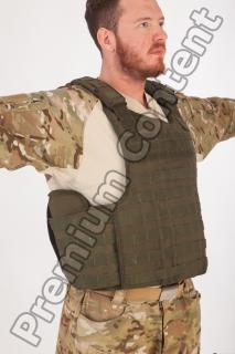 Soldier in American Army Military Uniform 0059