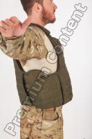 Soldier in American Army Military Uniform 0058