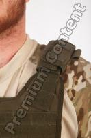 Soldier in American Army Military Uniform 0061