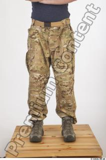 Soldier in American Army Military Uniform 0066