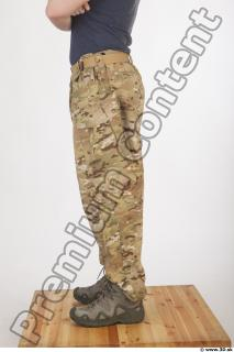 Soldier in American Army Military Uniform 0068