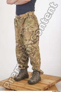 Soldier in American Army Military Uniform 0067