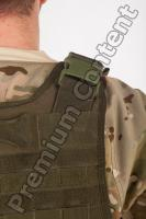 Soldier in American Army Military Uniform 0064