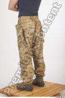 Soldier in American Army Military Uniform 0069
