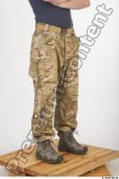 Soldier in American Army Military Uniform 0073