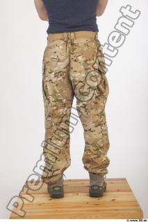 Soldier in American Army Military Uniform 0070
