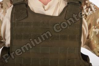Soldier in American Army Military Uniform 0062