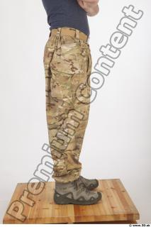 Soldier in American Army Military Uniform 0072