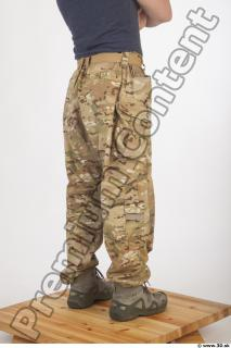 Soldier in American Army Military Uniform 0071