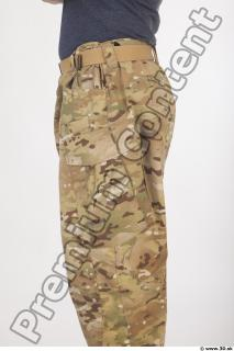 Soldier in American Army Military Uniform 0076