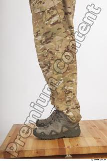 Soldier in American Army Military Uniform 0084
