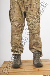 Soldier in American Army Military Uniform 0082