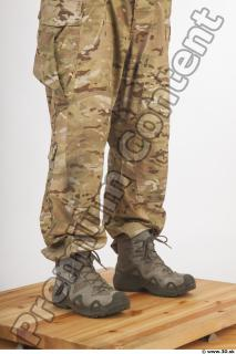 Soldier in American Army Military Uniform 0089