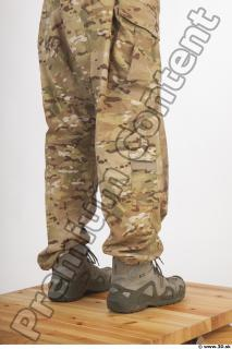 Soldier in American Army Military Uniform 0087