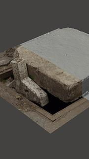 RAW 3D Scan of Manhole Cover #14