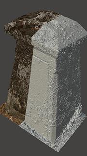 RAW 3D Scan of Memorial #2