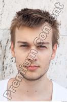 b0001 Young man head reference 0001