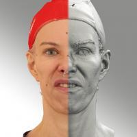 3D head scan of FV - Bolard