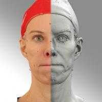 3D head scan of PBM - Bolard