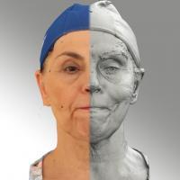 3D head scan of Blanka 10 PBM - Blanka