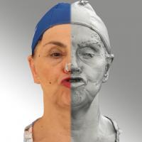 3D head scan of Blanka 12 SCh - Blanka