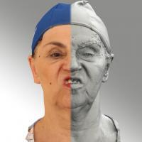 3D head scan of Blanka 11 FV - Blanka