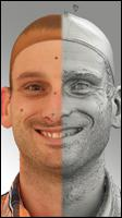 3D head scan of emotions and phonemes - Lukas