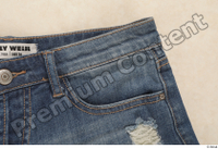 Clothes 187 blue jeans clothes of Irena N. clothes photo references clothing shorts 0004.jpg