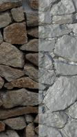 RAW 3D Scan of Wall Stones #2